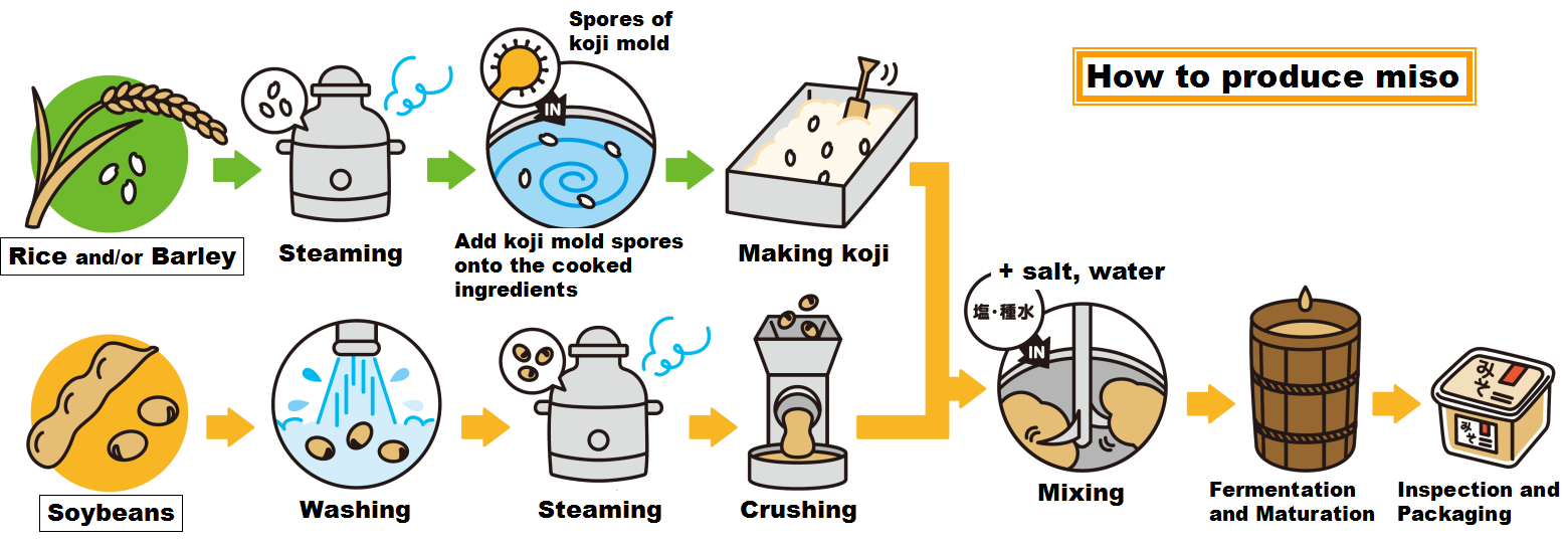 how to make miso large