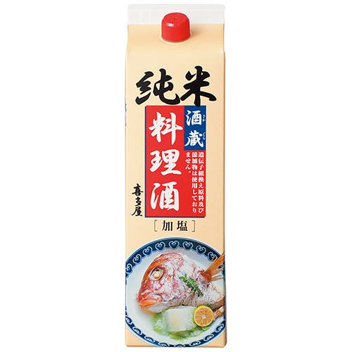 純米酒蔵料理酒パック