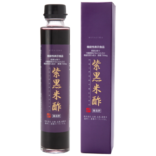Miyajima purple rice vinegar